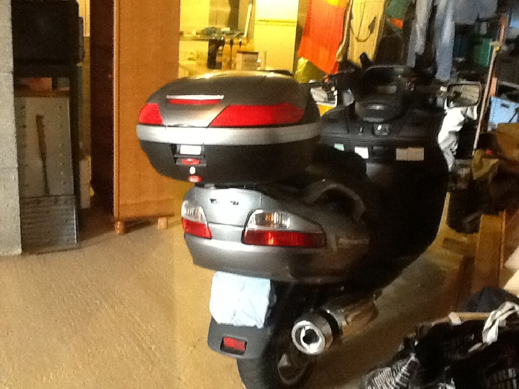 Scooter SUZUKI Burgman 650 Exécutive winter pack occasion