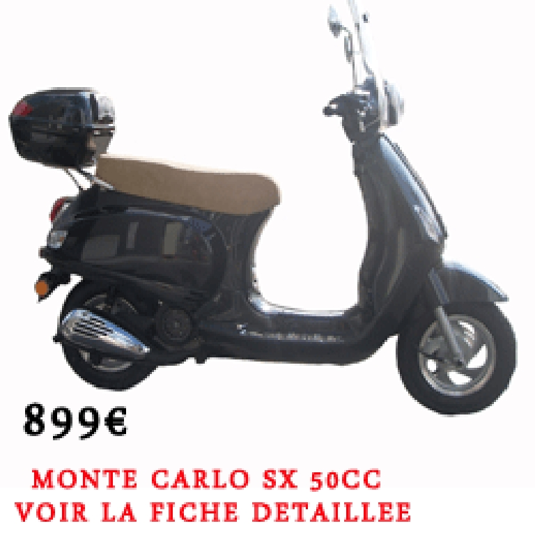Scooter NAGSCOOTER Monté Carlo 50 lux occasion