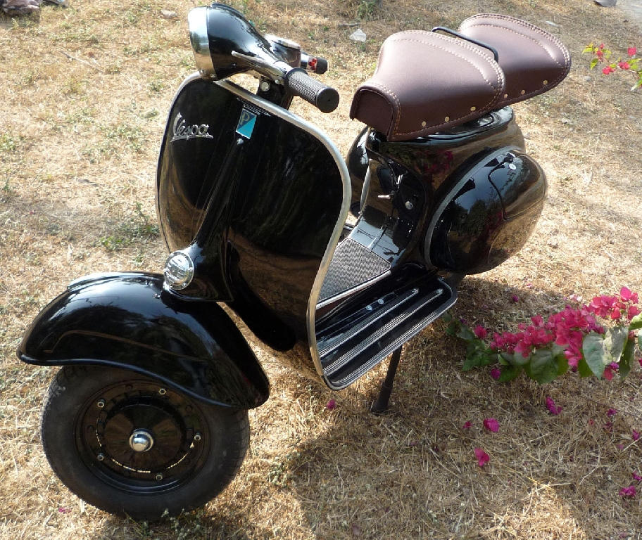 annonce scooter piaggio vespa 125 occasion de 1967 68 haut rhin ammerschwihr. Black Bedroom Furniture Sets. Home Design Ideas